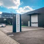 Bedrijfshal met kantoor te Arnhem